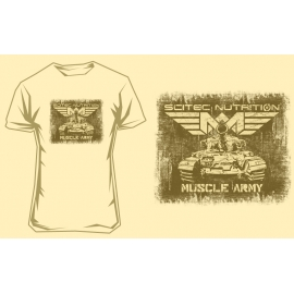 MUSCLE ARMY TANK