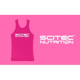 SCITEC NORMALPINK GIRL TANK TOP